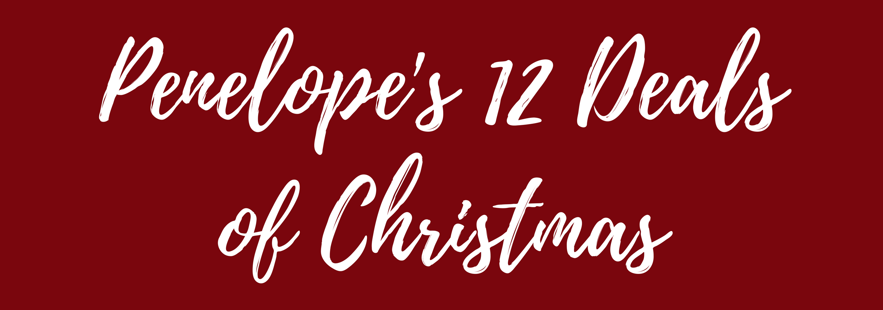 Penelopes 12 Deals of Christmas1