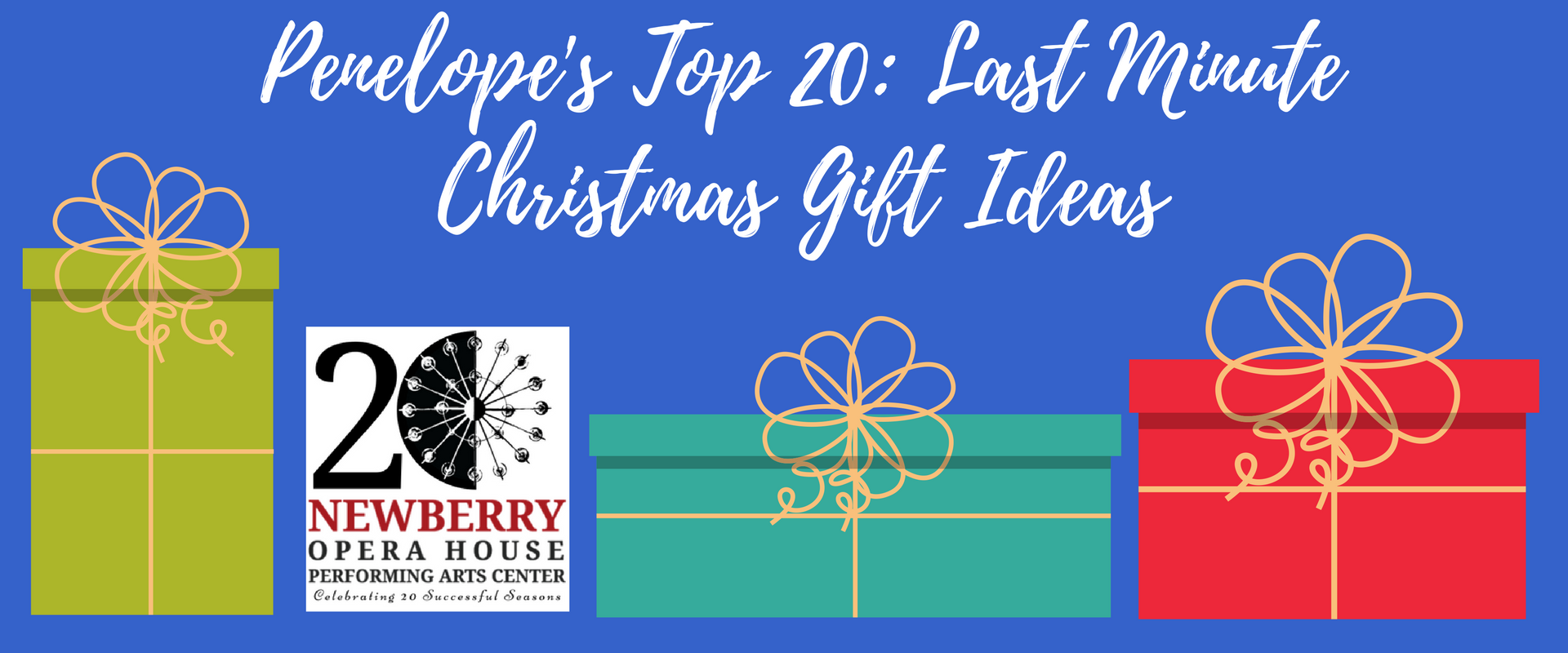 Penelope\'s Top 20 - Last Minute Christmas Gift Ideas - Newberry ...