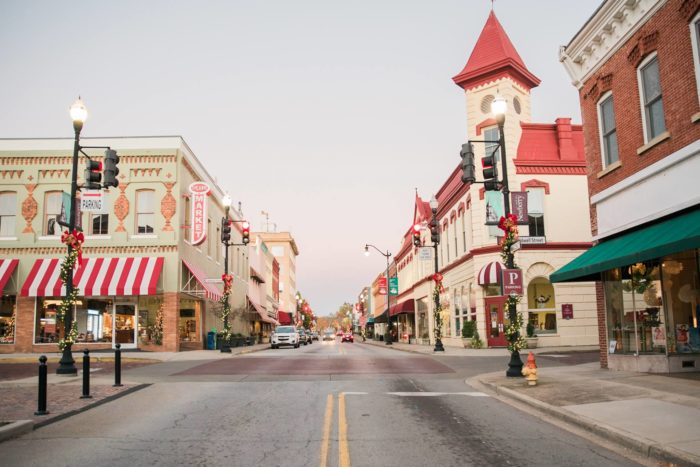 city of newberry downtown