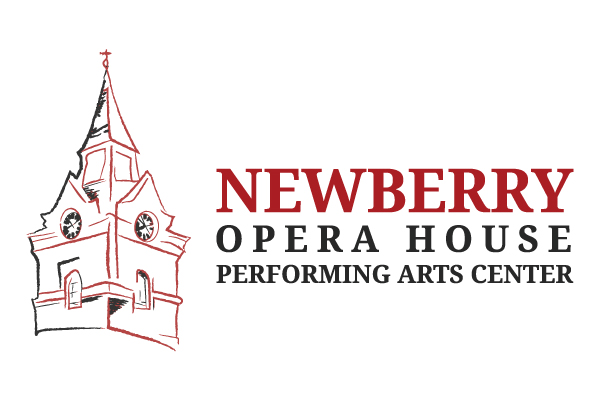 Newberry Opera House logo blk red